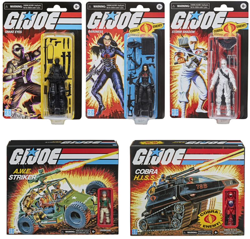 gi joe retro collection