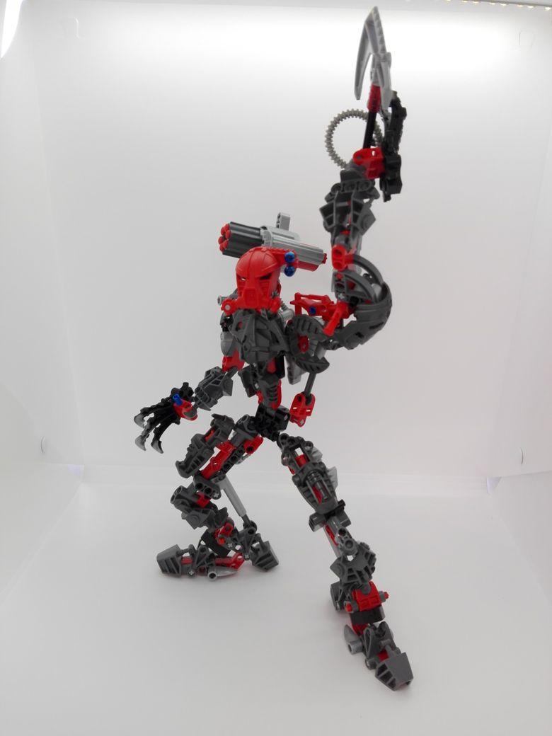LEGO Bionicle 8924 Maxilos & Spinax Maxilos-pose-2