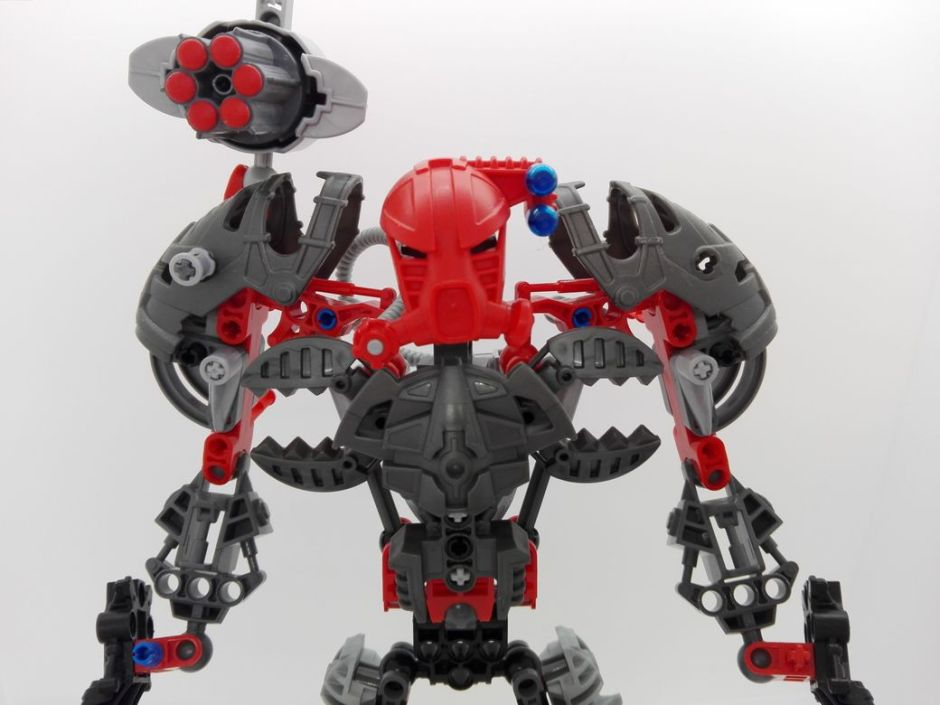 LEGO Bionicle 8924 Maxilos & Spinax Maxilos-torso-4