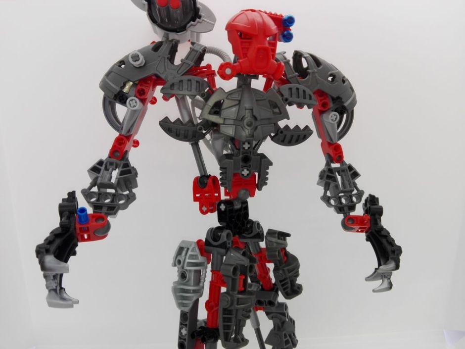 LEGO Bionicle 8924 Maxilos & Spinax Maxilos-torso-5