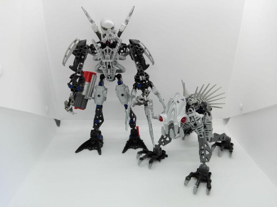 LEGO Bionicle 8924 Maxilos & Spinax Spinax-Hydraxon