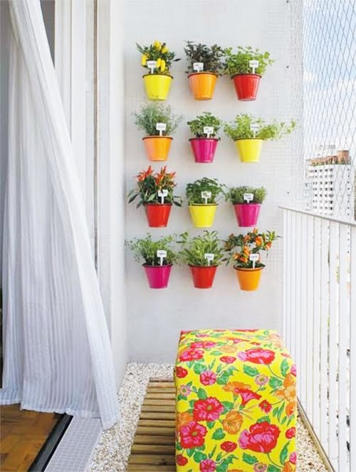 ideia jardim vertical 1 DIY: faça um jardim vertical!