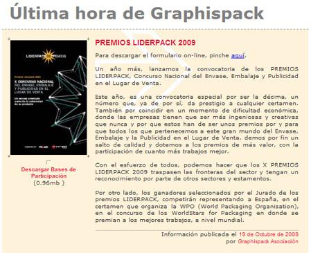 premios liderpack 2009