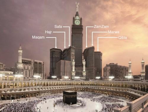 makkah clock tower hotels