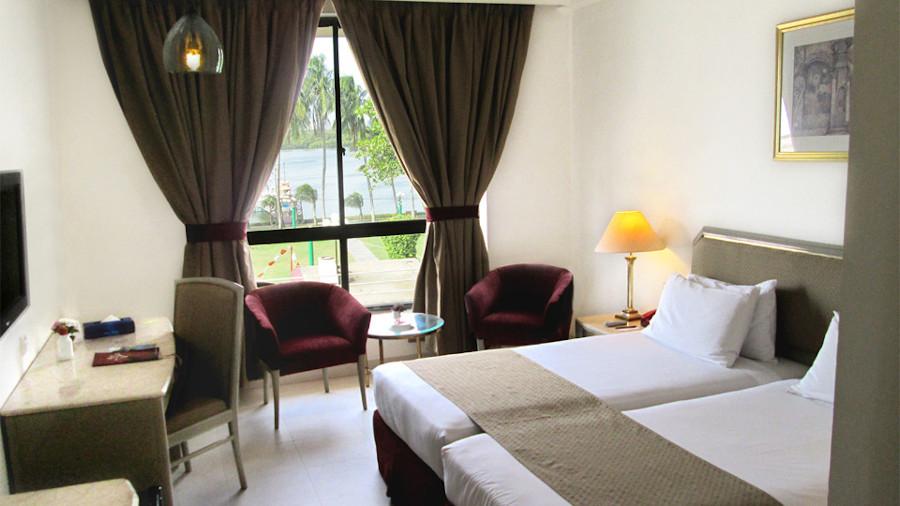 The Sea Facing Room at Beach Luxury Hotel Karachi Pakistan