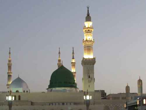 The Green Dome at Al Masjid An Nabawi