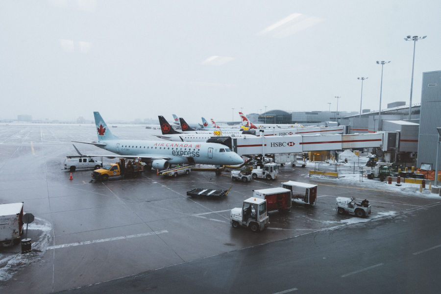 Jet Bridges at Toronto Pearson International Airport