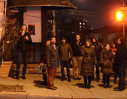 The College Point Pub Crawl 2014 Crew
