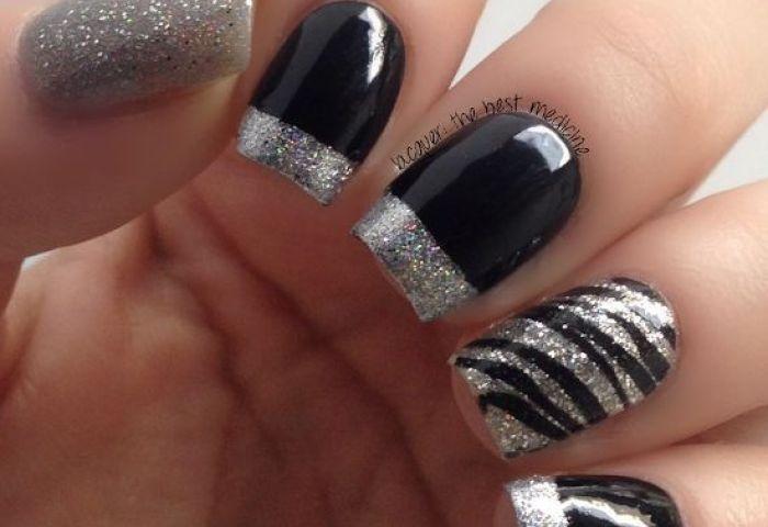 18 Fantásticos Diseños De Uñas En Color Plata Manicure