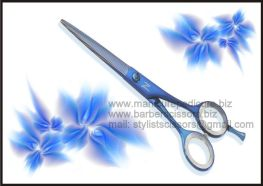 Hair Cutting Scissors, Hair Cutting Shears, Blue Coated