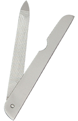 sapphire nail file, nail file, cuticle pusher, nail pusher, cuticle scissors, nail scissors