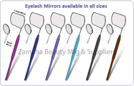 eyelash mirror with handle