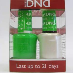 DND Soak Off Gel & Nail Lacquer 435 - Spring Leaf