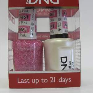 DND Soak Off Gel & Nail Lacquer 461 - Pretty In Pink