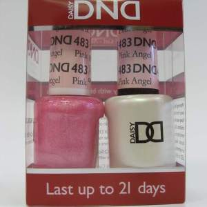 DND Soak Off Gel & Nail Lacquer 482 - Charming Cherry