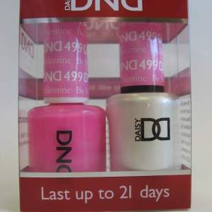 DND Soak Off Gel & Nail Lacquer 499 - Be My Valentine