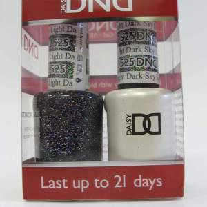 DND Soak Off Gel & Nail Lacquer 525 - Dark Sky Light