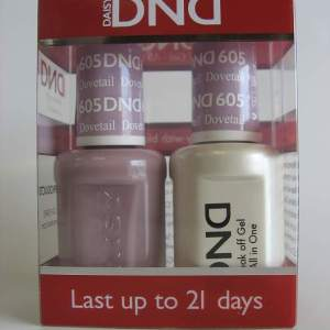DND Gel & Polish Duo 605 - Dovetail