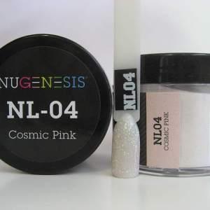 NuGenesis Dipping Powder - Cosmic Pink NL-04