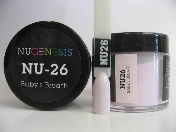 NuGenesis Dipping Powder - Baby's Breath NU-26