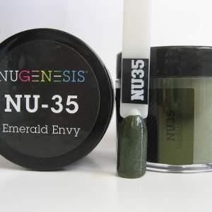 NuGenesis Dipping Powder - Emerald Envy NU-35