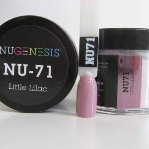 NuGenesis Dipping Powder - Little Lilac NU-71
