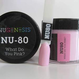 NuGenesis Dipping Powder - What Do You Pink NU-80