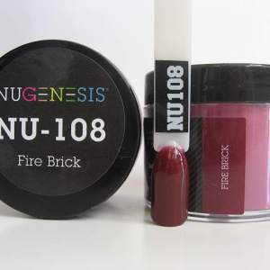 NuGenesis Dipping Powder - Fire Brick NU-108