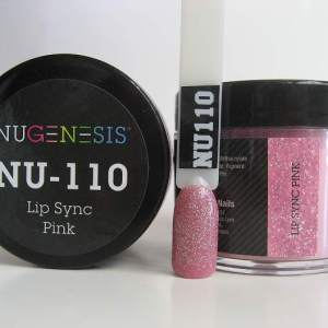 NuGenesis Dipping Powder - Lip Sync Pink NU-110