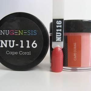 NuGenesis Dipping Powder - Cape Coral NU-116