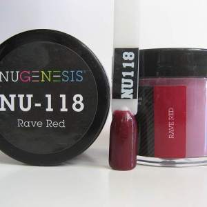 NuGenesis Dipping Powder - Rave Red NU-118