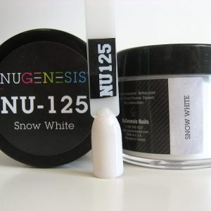 Nugenesis Easy Dip Powder - NU-125 Snow White