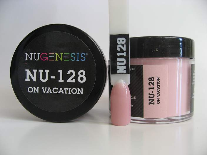 Nugenesis Dipping Powder Nu128 On Vacation Manicure