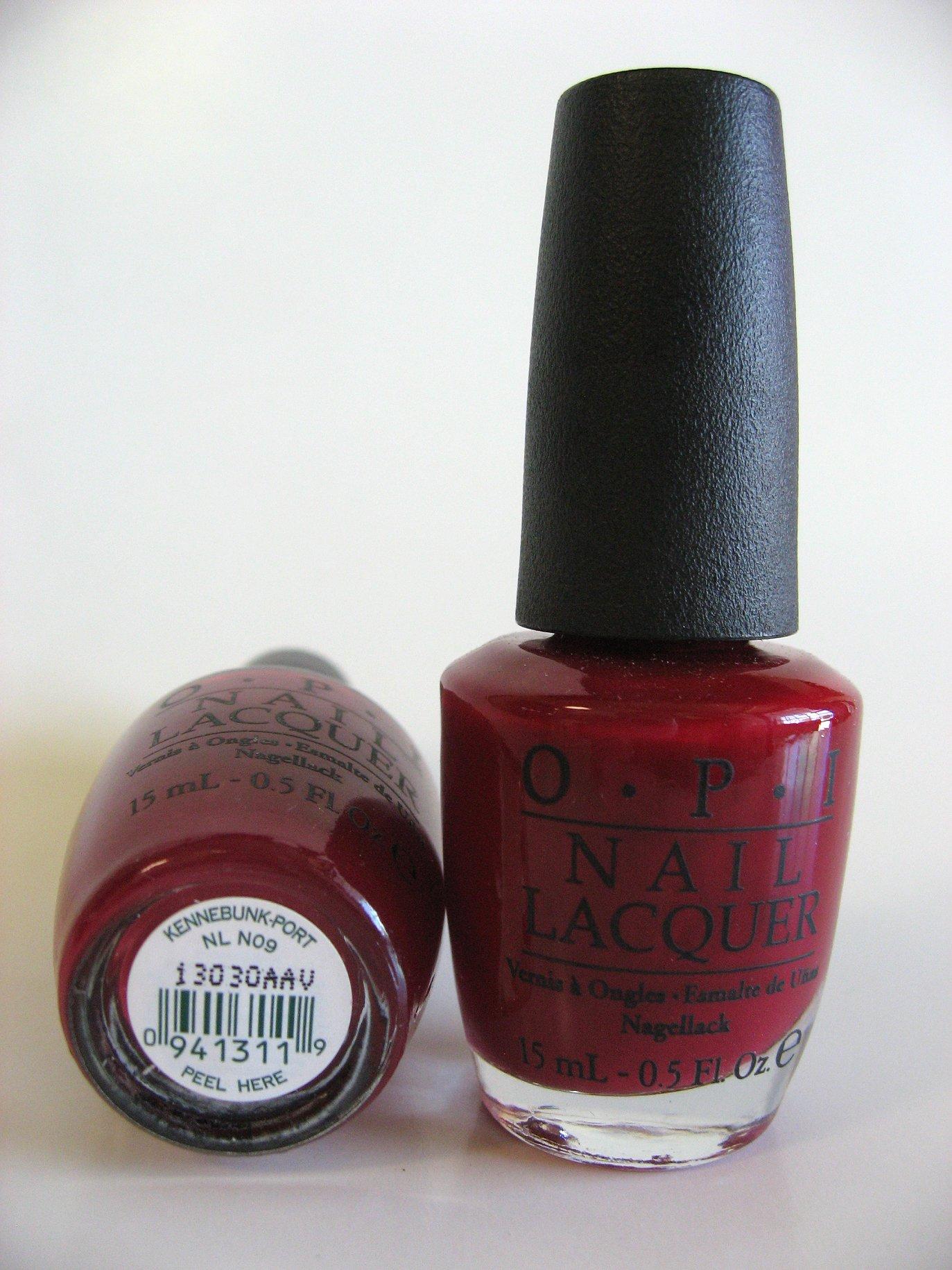 OPI Polish - NL N09 - KENNEBUNK-PORT - Manicure Pedicure