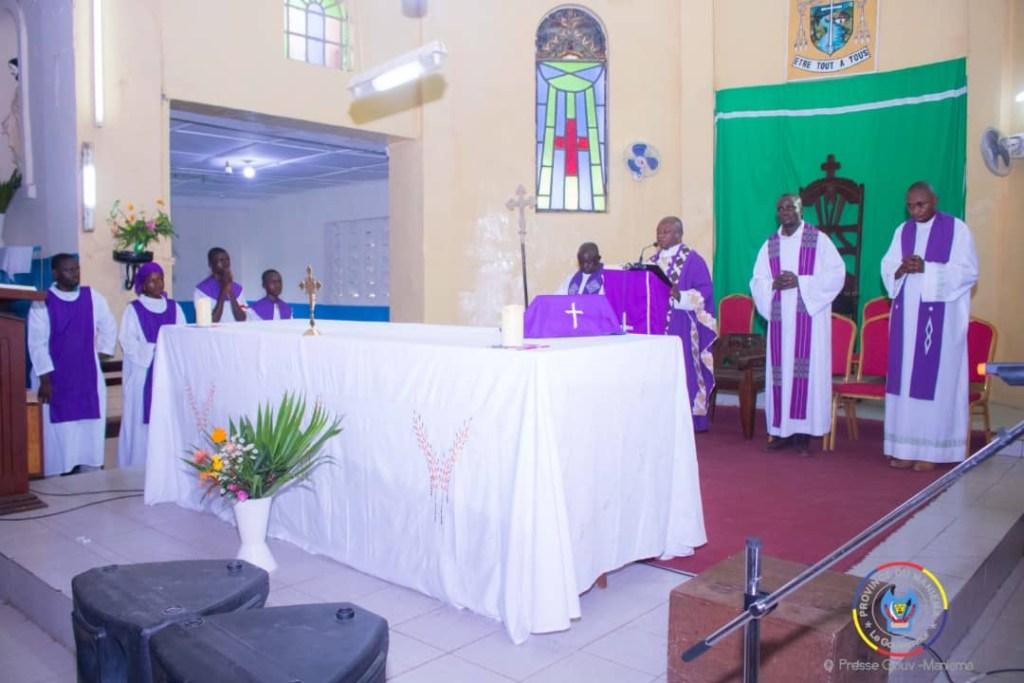 Kabila – Lumumba : la province du maniema a organisé une messe d'action de grâce à Kindu