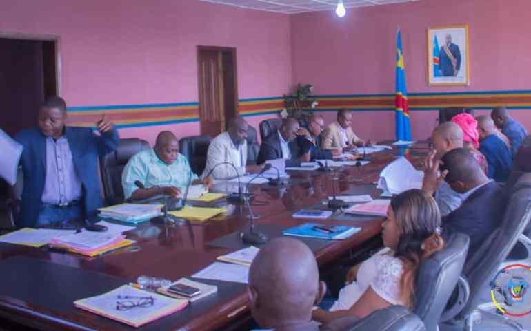 Compte rendu de la réunion du conseil des Ministres du Gouvernement Provincial du Maniema tenue à Kindu le lundi 06 janvier 2020