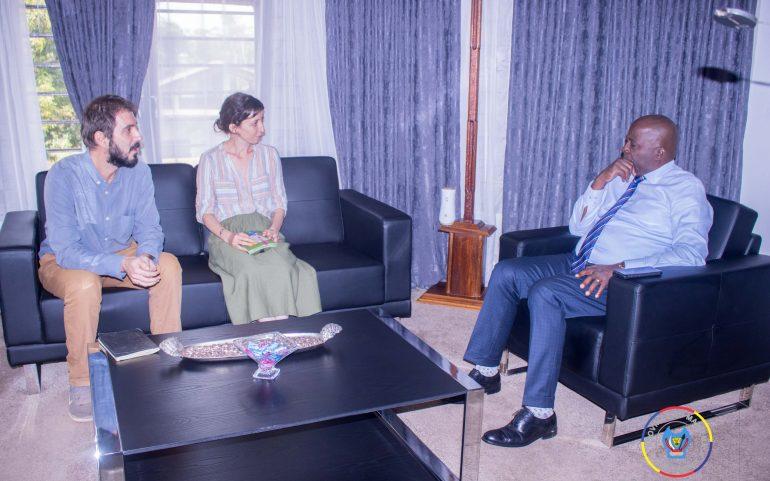 Santé : Une équipe de MSF/Espagne s'entretien avec le Gouverneur