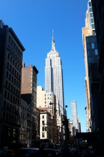 A nice, dramatic shot of the Empire State Building.