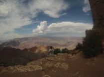 Second first view of the Grand Canyon.