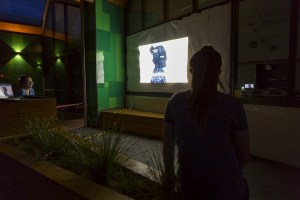 Projection on bullying at Lightwaves