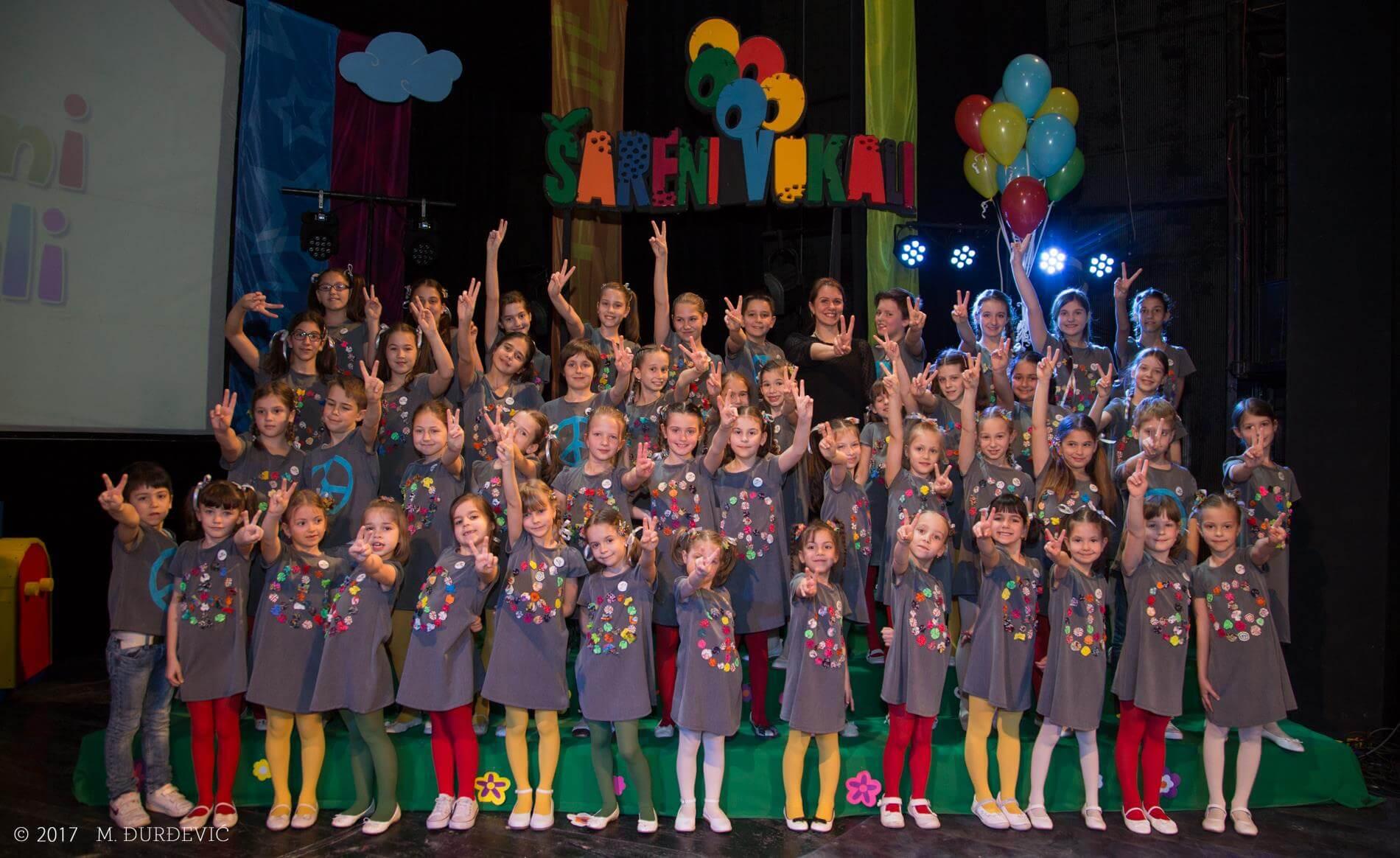 dečiji muzički festival Šareni vokali