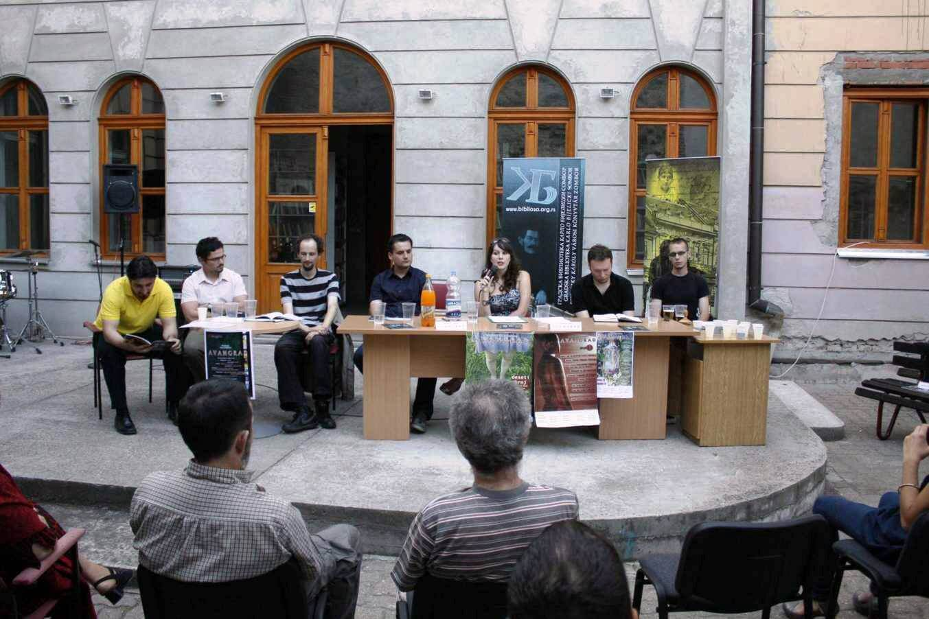 Promocija lista za kulturu Avangrad