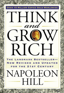 Think and Grow Rich, a law of attraction book