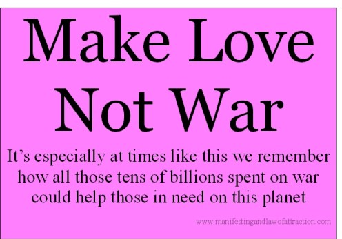 Make Love Not War, Philippines Disaster