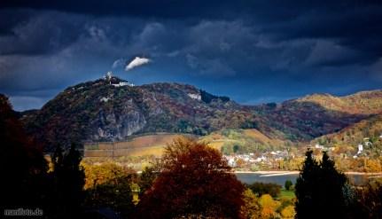 Siebengebirge mit Drachenfels .:. 6.11.2016