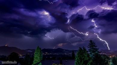 Juni 2021 .:. Gewitternacht über dem Rheintal