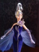 BOB MACKIE'S STERLING SILVER ROSE BARBIE DOLL (CAUCASIAN)