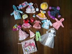 TAKARA JENNY'S & BARBIE CLOTHES
