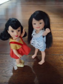 Kelly Snow White and Asian Girl Kelly