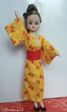 Elly in Yukata Outfit
